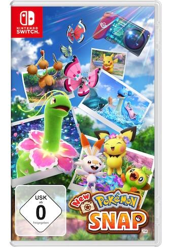 Nintendo Switch Spiel »New Pokémon Snap«, Nintendo Switch kaufen