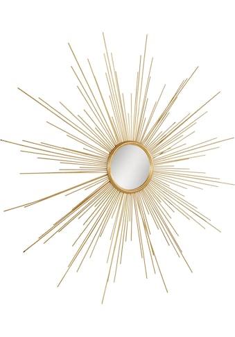 Leonique Dekospiegel »Spiegel«, rund, Wanddeko Sonne kaufen