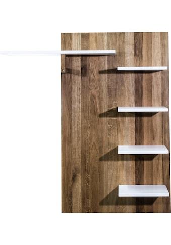 Places of Style Garderobenpaneel »Renny«, kombiniert Eiche massiv und MDF, Breite 90 cm kaufen