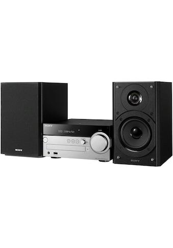 Sony »CMT - SX7B« Kompaktanlage (FM - Tuner mit RDS,Digitalradio (DAB+), 100 Watt) kaufen
