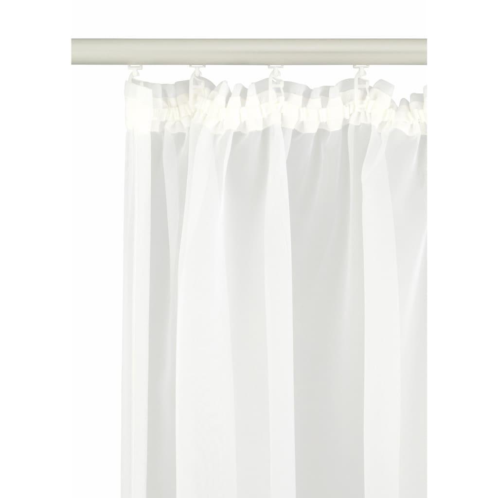 my home Gardine »Missy«, Vorhang, Fertiggardine, Store, transparent
