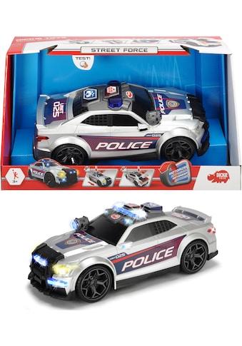 Dickie Toys Spielzeug-Polizei »Street Force«, mit Licht und Sound kaufen