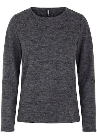 pieces Rundhalsshirt »PCPAM«, mit Stretch kaufen
