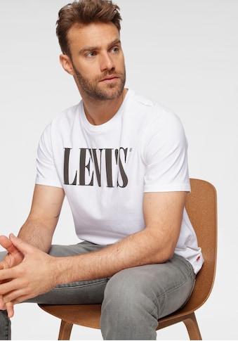 Levi's® T-Shirt »SERIF«, mit markantem Logo-Print kaufen