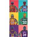 """Handtuch """"NBA Legends"""", Juniqe"""