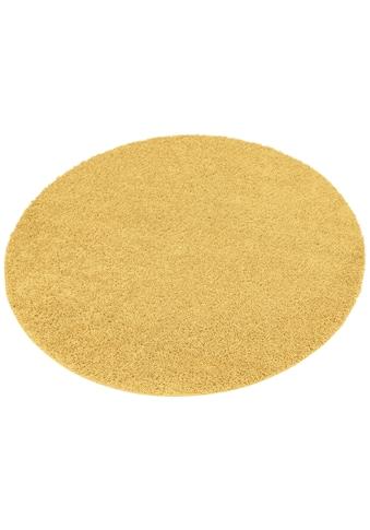 Hochflor - Teppich, »Shaggy 30«, Home affaire, rund, Höhe 30 mm, maschinell gewebt acheter