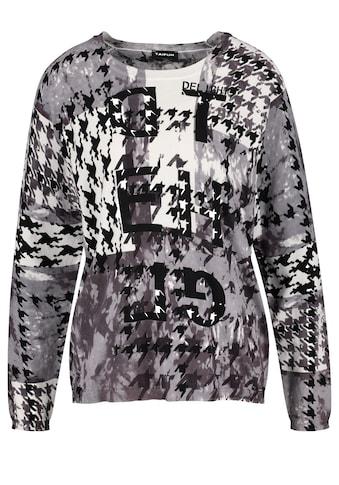 Taifun Rundhalspullover »Pullover mit Muster - Mix« kaufen