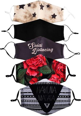 HaILY'S Mund - Nasen - Masken (Packung, 5 Stück) kaufen