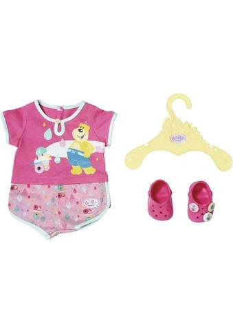 "Baby Born Puppenkleidung ""Bath Pyjamas & Clogs"" kaufen"