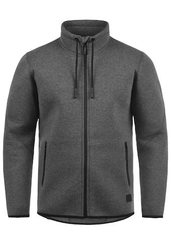 Blend Sweatjacke »Wooby«, Sweatshirtjacke aus Neoprenartigem Material kaufen