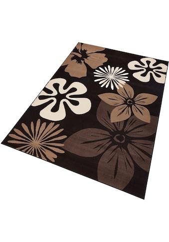 HANSE Home Teppich »Flora«, rechteckig, 9 mm Höhe, Kurzflor, ringsum gekettelt, Wohnzimmer kaufen
