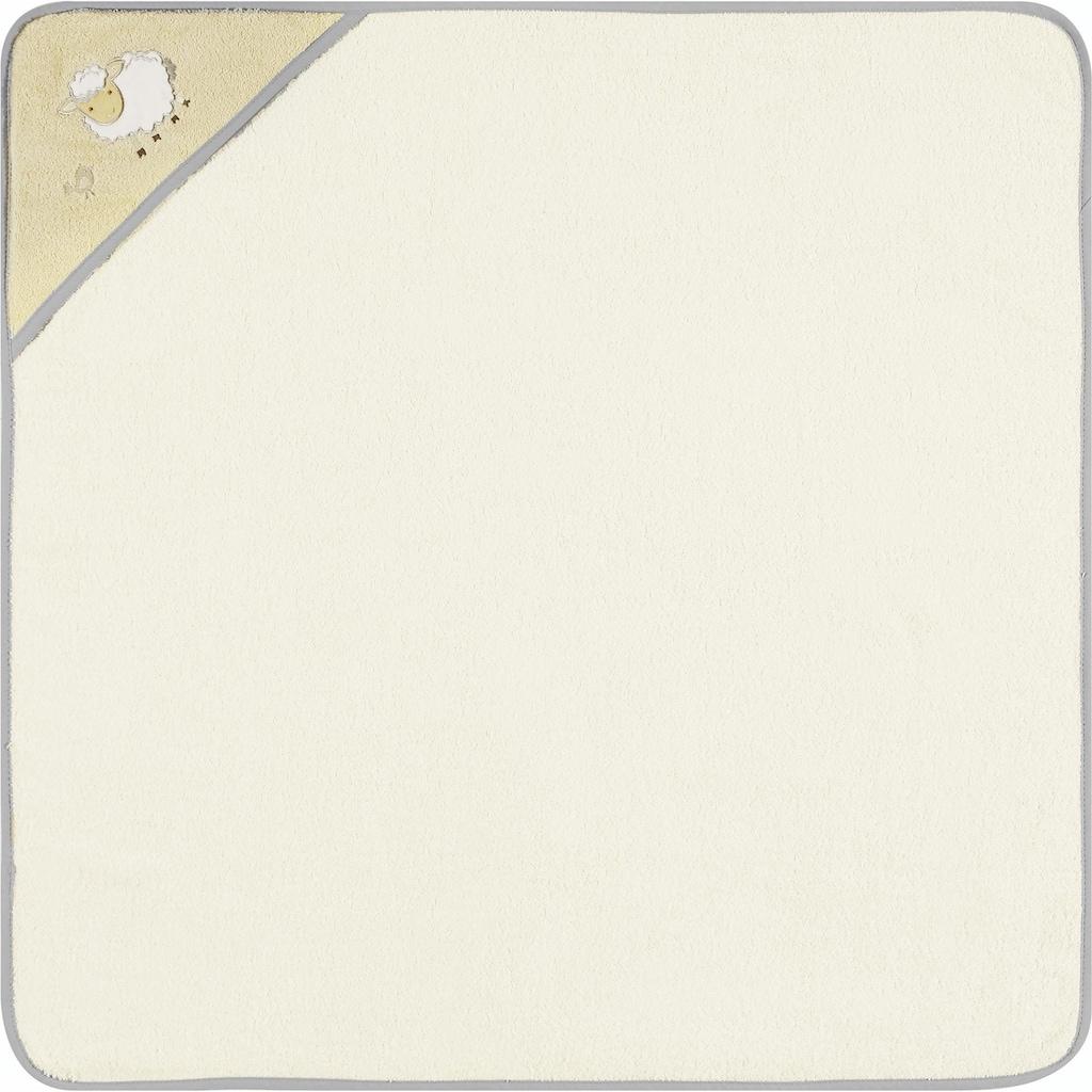 Egeria Kapuzenhandtuch »Sheep«, (1 St.), mit gesticktem Motiv