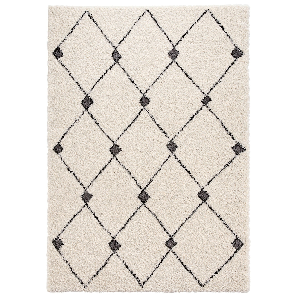 MINT RUGS Hochflor-Teppich »Create«, rechteckig, 35 mm Höhe, besonders weich durch Microfaser, Wohnzimmer