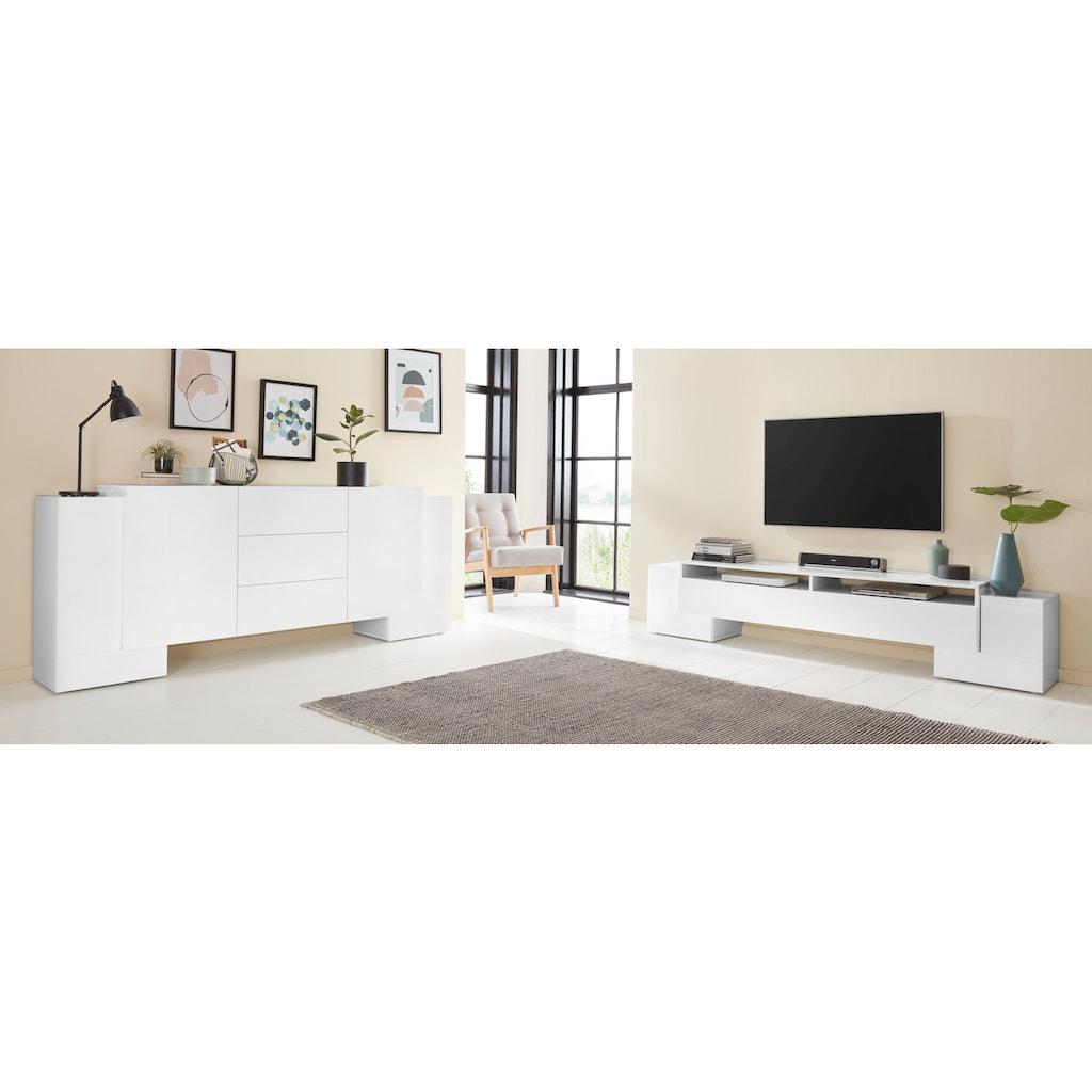 Tecnos Lowboard »Pillon«, Breite 210 cm