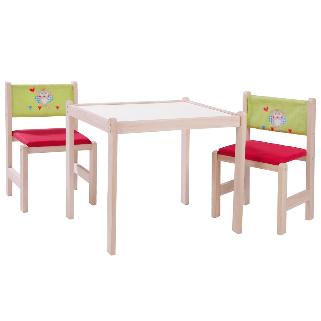 roba® Kindersitzgruppe »Waldhochzeit«, (3 tlg.)