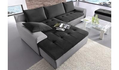 sit&more Ecksofa, XXL, inklusive Bettfunktion und Bettkasten kaufen