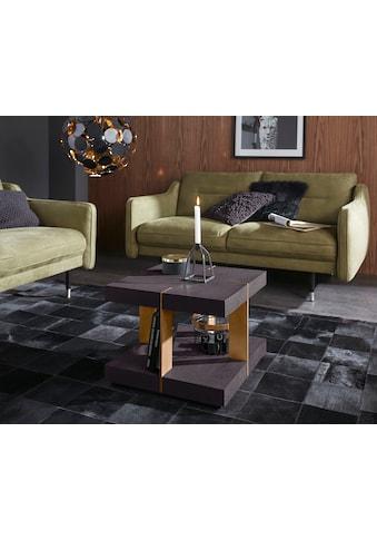Places of Style Couchtisch »Verrazzano«, in unterschiedlichen Farben und Grössen erhältlich, aus Holz und Metall gefertigt kaufen