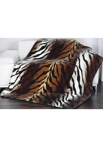 Gözze Wohndecke »Königstiger«, Animalprint kaufen