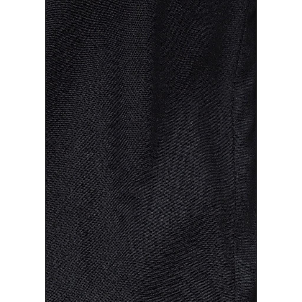 AJC Kurzarmbluse, aus weich fliessender Viskose mit Puffärmeln