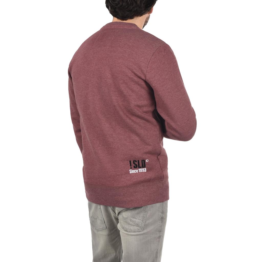 Solid Sweatshirt »Benn«, Sweatpullover mit weicher Fleece-Innenseite