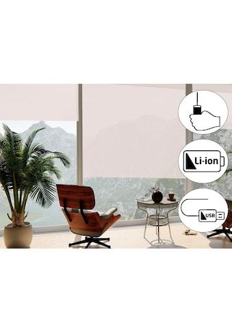 sunlines Seitenzugrollo »Classic Style Akku-Rollo«, Lichtschutz, freihängend, Made in Germany kaufen