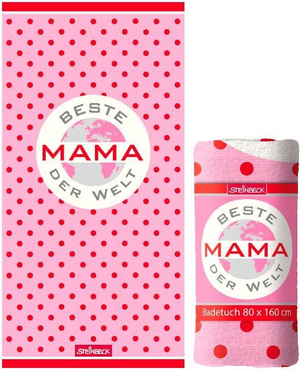 "Image of Badetuch ""Beste Mama"""
