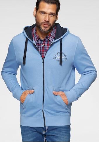 Man's World Kapuzensweatjacke kaufen
