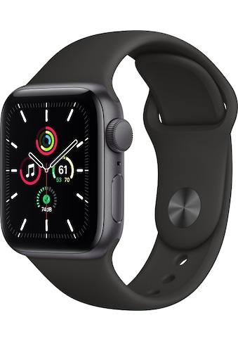 Apple Smartwatch »Apple Watch Series SE GPS, Aluminium Gehäuse, 40 mm mit Sportarmband« kaufen