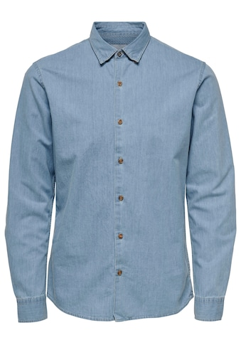 ONLY & SONS Langarmhemd »SASK LS CHAMBRAY SHIRT« kaufen