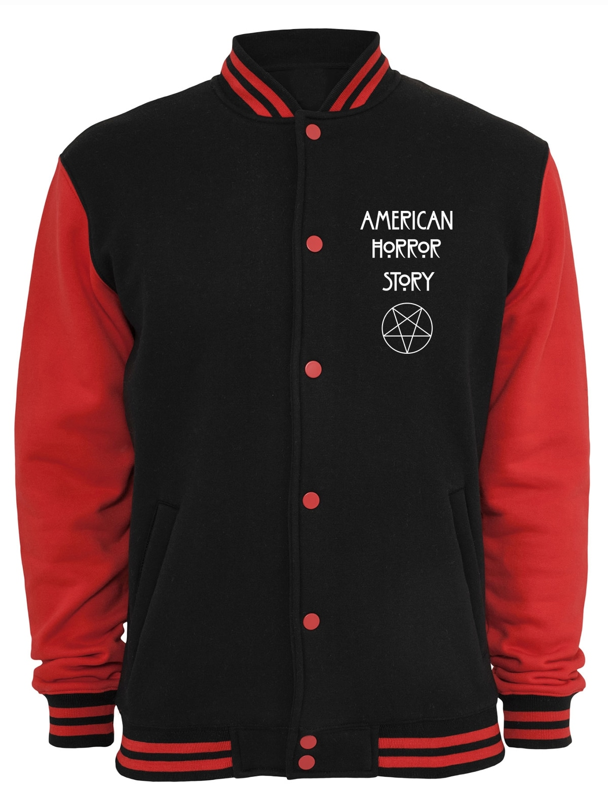 Image of American Horror Story Collegejacke »Normal People College Jacke«