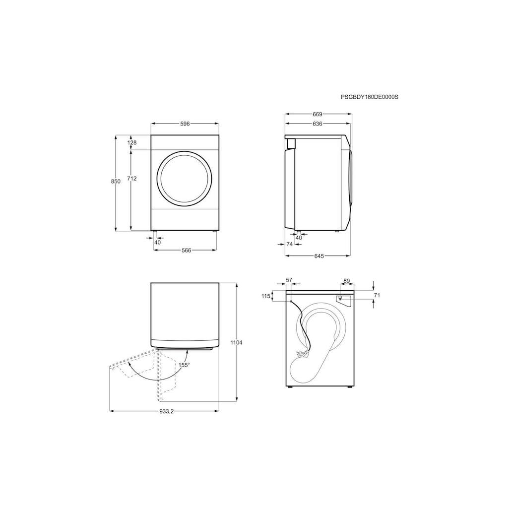 Zanussi Wärmepumpentrockner »THE8051 A++«