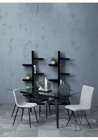 andas Stuhl »Willy«, aus schönem Webstoff, in unterschiedlichen Farbvarianten mit... kaufen