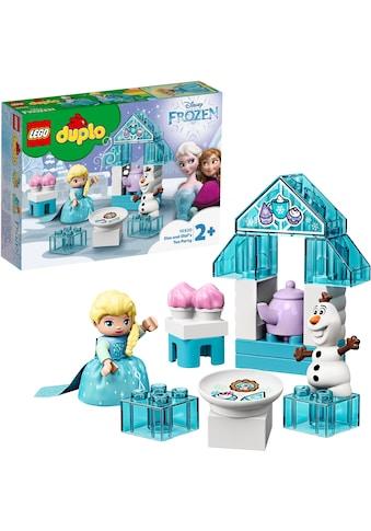 LEGO® Konstruktionsspielsteine »Elsas und Olafs Eis-Café (10920), LEGO® DUPLO® Disney Princess«, (17 St.) kaufen