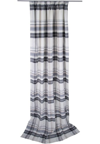 TOM TAILOR Vorhang »Cosy New Check«, HxB: 260x135 kaufen