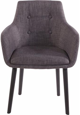 Armlehnstuhl »Bradford«, (1 oder 2 Stück), Bezug in Webstoff, Gestell aus Eiche... kaufen