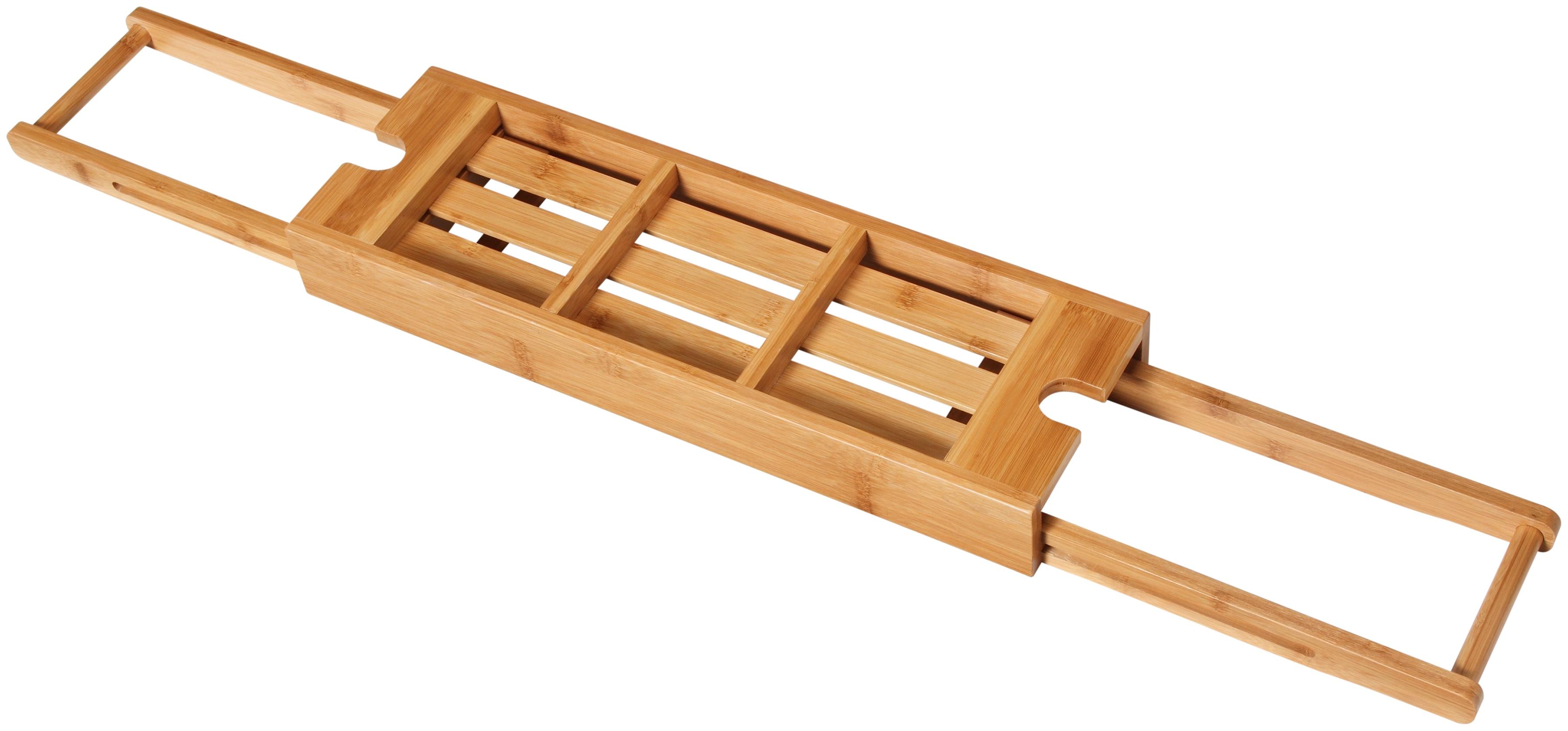 Image of Produktdetails Besonderheiten: Feuchtigkeitsbeständig Farbe: braun Material Material: Bambus Massangaben Tiefe: 16 cm Breite: 68 cm Höhe: 6 cm