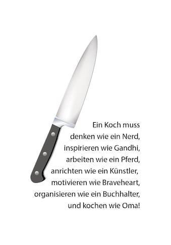 queence Wanddekoobjekt »Messer« kaufen