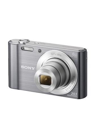 Sony Kompaktkamera »DSC-W810S Silberfarben« kaufen