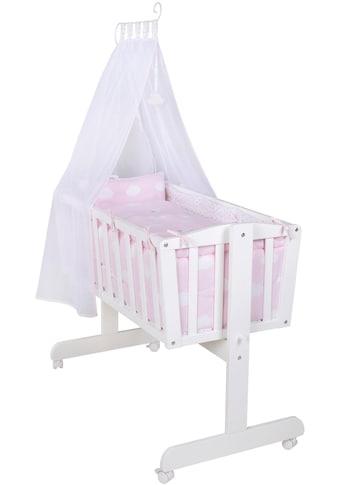 roba® Stubenbett, »Komplettwiege, Kleine Wolke rosa« kaufen