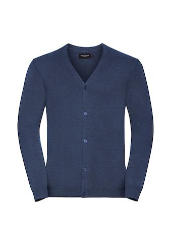 Russell Strickjacke »Herren Baumwolle Polyacryl V - ausschnitt Weste« kaufen