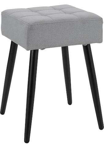 my home Hocker »Louise«, quadratische Sitzfläche in 32 cm kaufen