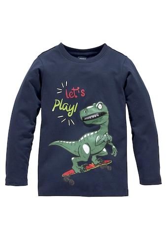 KIDSWORLD Langarmshirt »Dino mit Dekozipper« kaufen