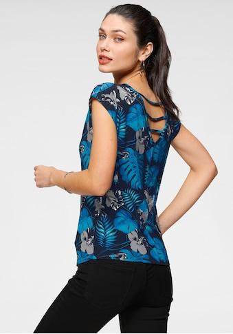 Melrose Rundhalsshirt, mit Rückendetail - NEUE KOLLEKTION kaufen