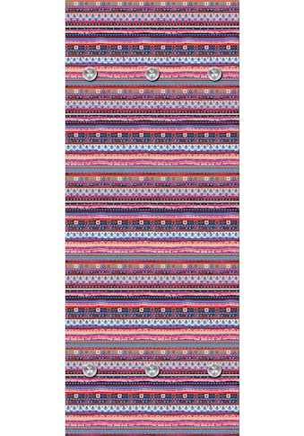 queence Garderobenpaneel »Streifen quer«, mit 6 Haken, 50 x 120 cm kaufen
