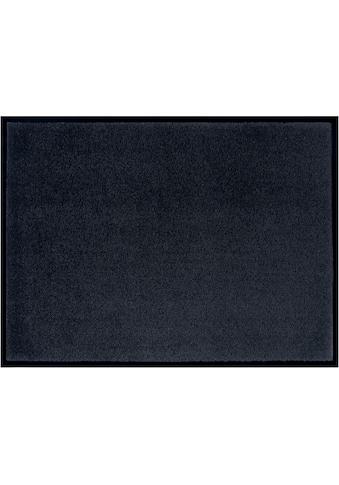 Home affaire Fussmatte »Triton«, rechteckig, 7 mm Höhe, Fussabstreifer, Fussabtreter, Schmutzfangläufer, Schmutzfangteppich, Schmutzmatte, Türmatte, Türvorleger, Schmutzfangmatte, In- und Outdoor geeignet, waschbar kaufen