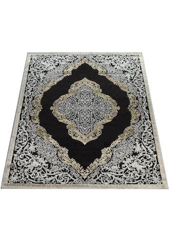 Paco Home Teppich »Elizabeth 052«, rechteckig, 16 mm Höhe, Hoch-Tief-Effekt, Orient-Optik, Vintage Design, Wohnzimmer kaufen