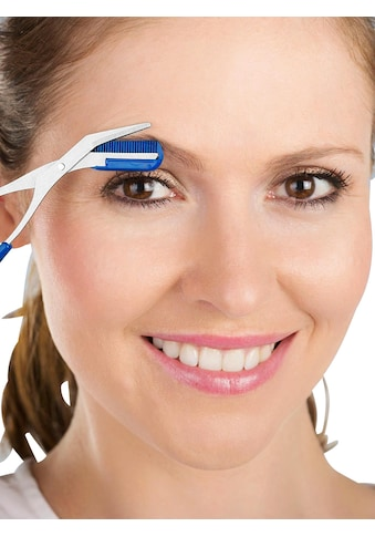 Augenbrauenschere mit integriertem Kamm kaufen