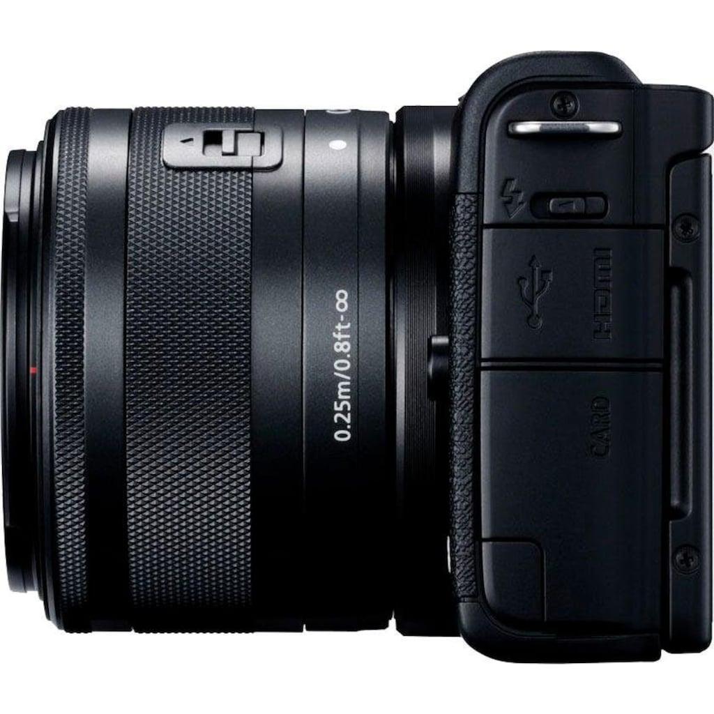 Canon Systemkamera »EOS M200 EF-M 15-45mm f3.5-6.3 IS STM Kit«, EF-M 15-45mm f/3.5-6.3 IS STM, Bluetooth-WLAN (Wi-Fi)