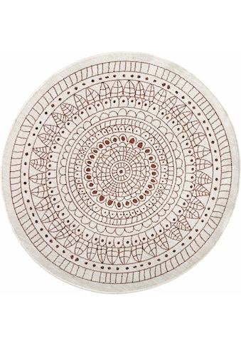 Teppich, »Porto«, bougari, rund, Höhe 5 mm, maschinell gewebt kaufen