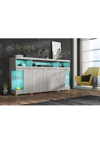 TRENDMANUFAKTUR Sideboard »India« acheter